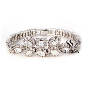 SALES Launching Price Solpresa True Love Zirconium Diamond Bracelet